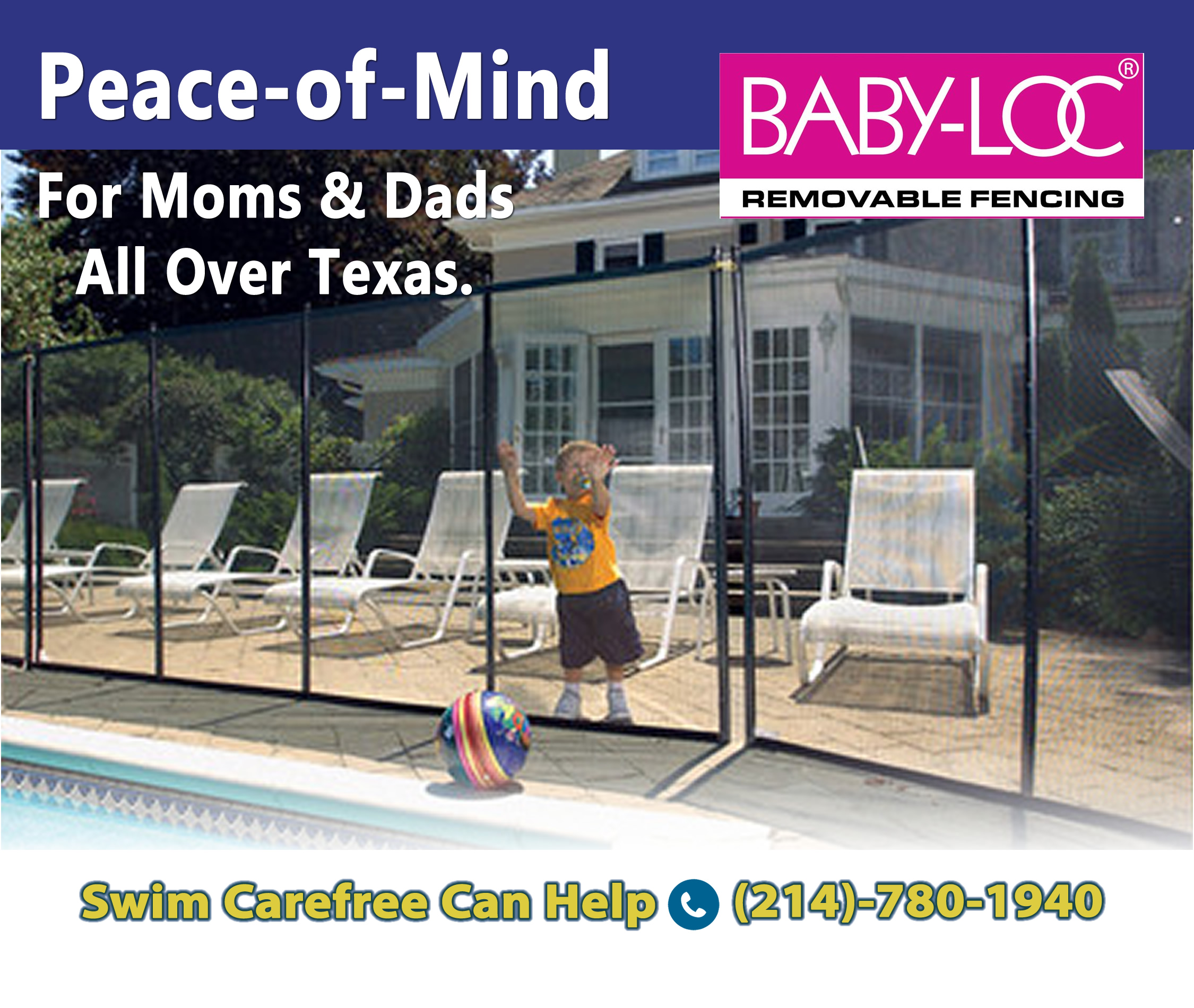 Pool Safety Fencing And Babyloc Swim Carefree Llc