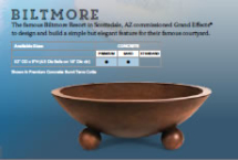 biltmore fire bowl