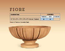 fiore fire bowl