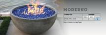 modero fire bowl